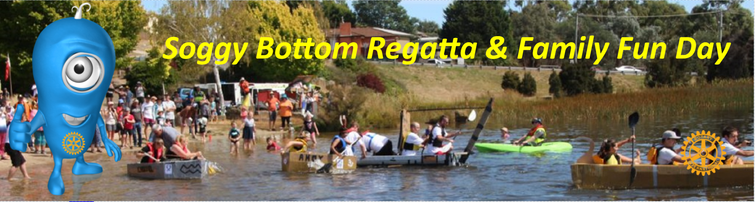 Soggy Bottom Cardboard Box Regatta